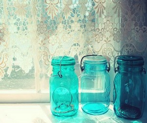 blue and vintage image