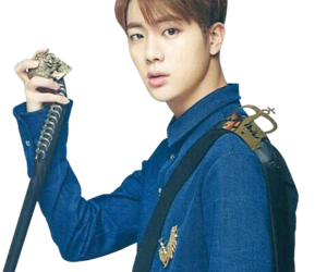 jin, png, and bts image