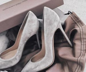 beige, girly, and high heels image