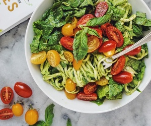 diet, pasta, and vegetables image