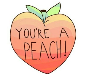 pastel, peach, and pink image