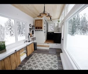cabin, camp, and tiny house image