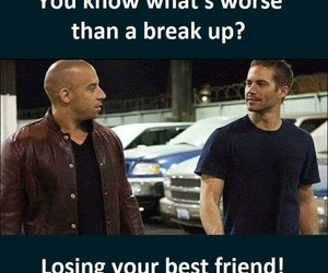 friendship, vindiesel, and fast&furious image