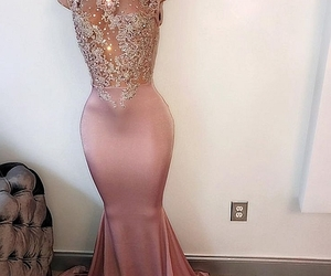 prom dress, Prom, and dress image