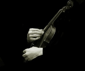 sherlock, black and white, and music image