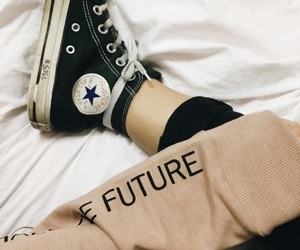 bed, black, and future image