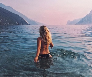 view, wanderlust, and water image