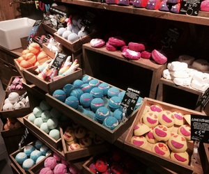 goals, lush, and soap image