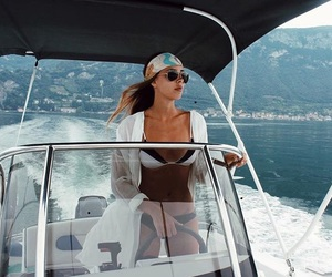 boat, sunglasses, and cool image