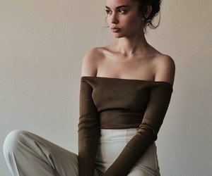 model, haïr, and pants image