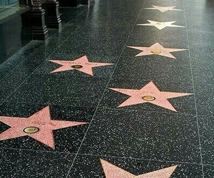 hollywood, stars, and california image