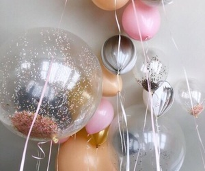 balloons, hipster, and chic image