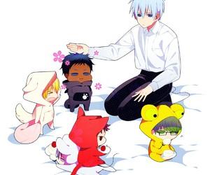 kuroko no basket, chibi, and kise ryouta image