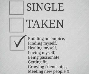 single and taken image