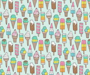 background, dessert, and ice cream image
