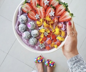 fruit and acai bowl image