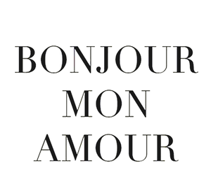 amour, monamour, and mon image