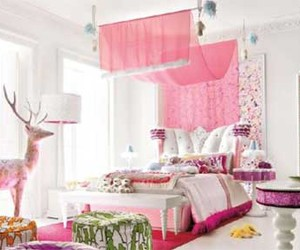pink, pretty, and room image