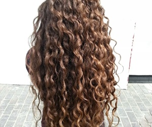 curly, hair, and goals image