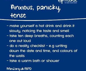 anxiety, tips, and help image