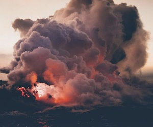 beautiful and volcano image