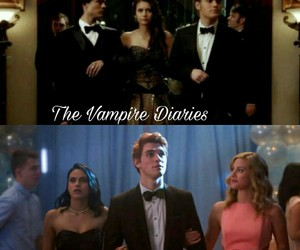 riverdale and tvd image