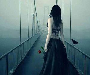bridge, dark, and Darkness image