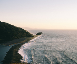 landscape, sunset, and vsco film image