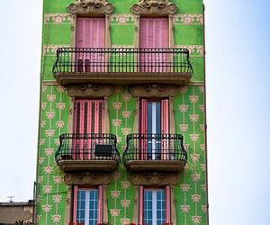 Barcelona, green, and architecture image