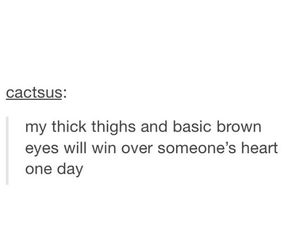 quotes, thick thighs, and body positivity image