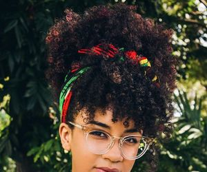 curly hair, natural hair, and curly hairstyles image