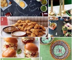 food, tailgating, and football image