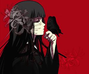anime, jigoku shoujo, and enma ai image