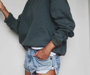 clothes, shorts, and spring image