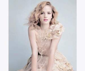 curly, emma watson, and style image