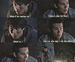 friendship, scott, and stiles image