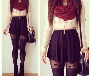inspiration, scarf, and outfit image