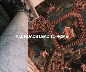 quotes, rome, and art image