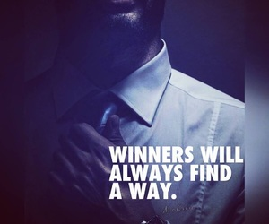 qoute, way, and winner image
