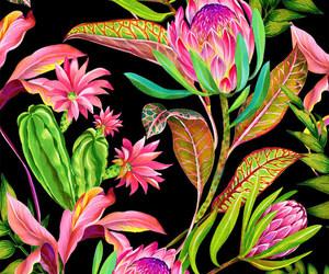 background, botanical, and pattern image