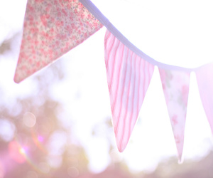 bunting, high key, and photography image