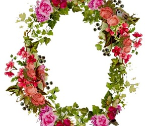 frame, floral, and overlay image