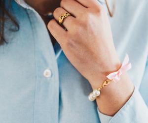 bracelet, classy, and elegance image