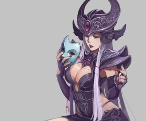syndra, league of legends, and lol image