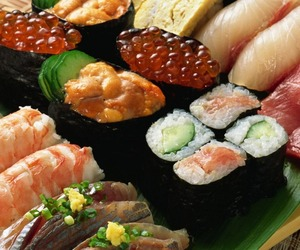 fish, seafood, and roe image