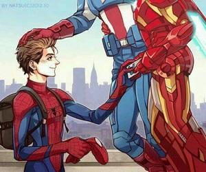 iron man, stony, and Avengers image