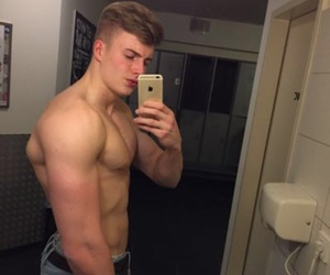 fit, german, and handsome image