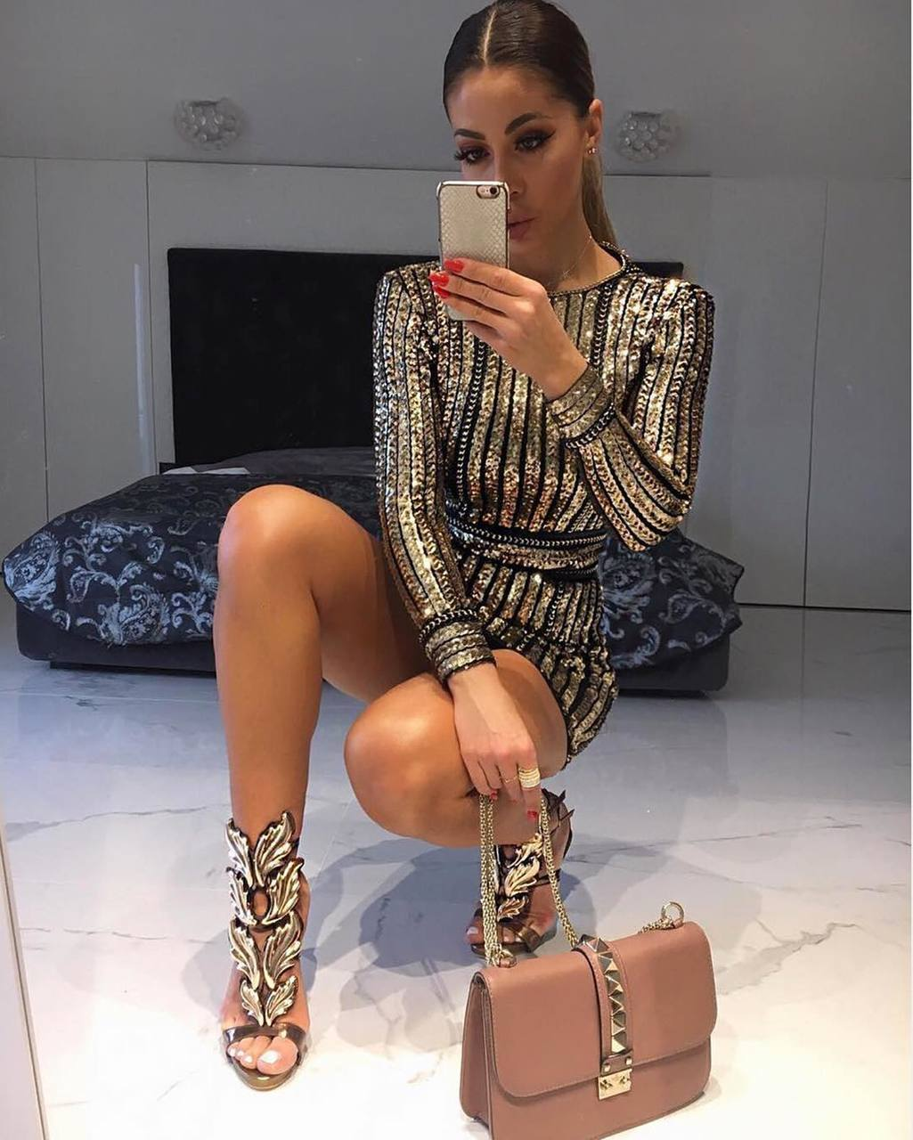 girl, fashion, and trend image