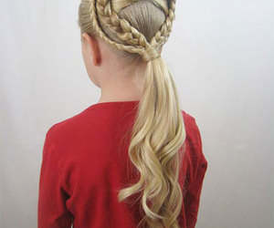 romantic hairstyles, valentines day hair, and valentines day hairstyles image