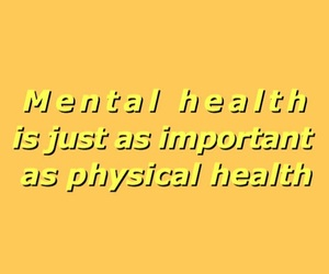 yellow, aesthetic, and mental health image